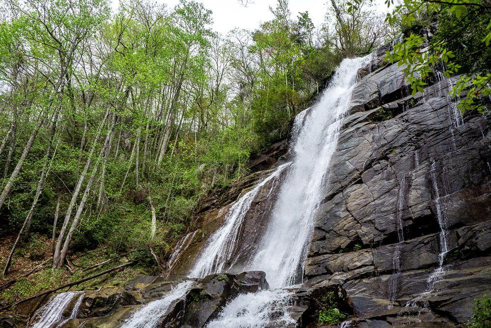 upper tier of falls creek waterfall