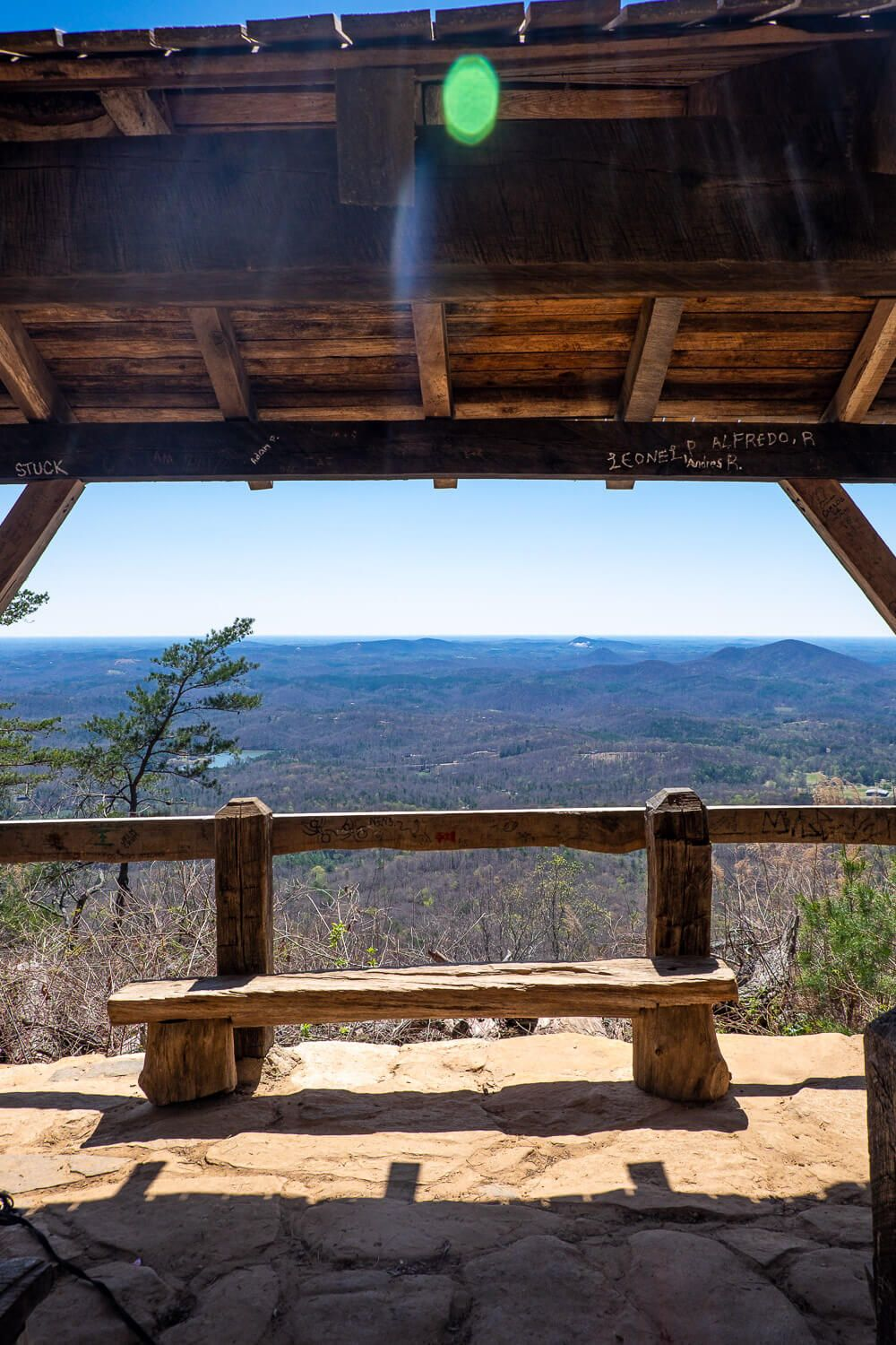 table rock trail shelter