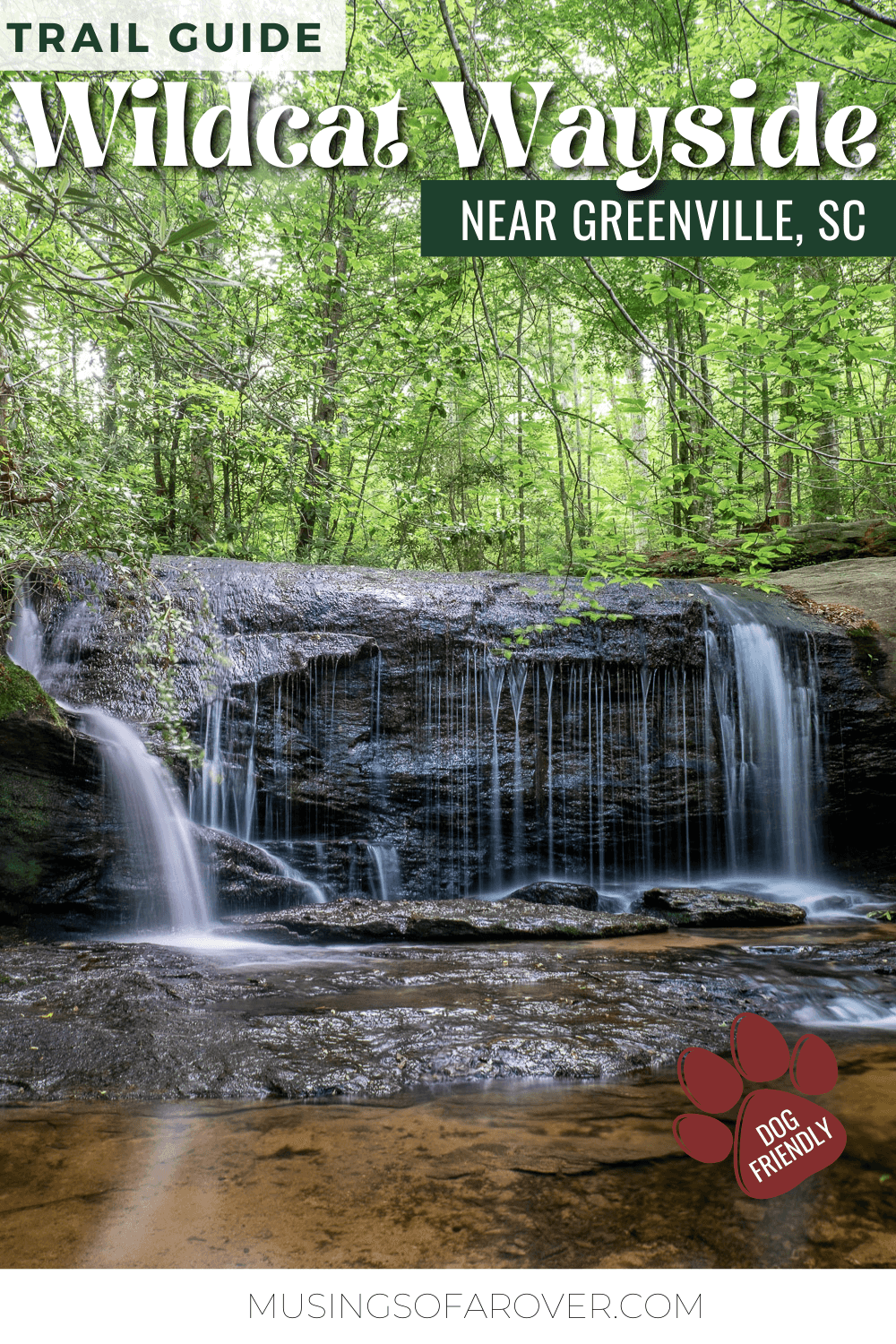 This popular roadside stop along the Cherokee Scenic Highway will take you to 3 waterfalls along this easy 1 mile loop hike. During the warmer months, go for a dip in the natural pool and feel the spray of the waterfall.